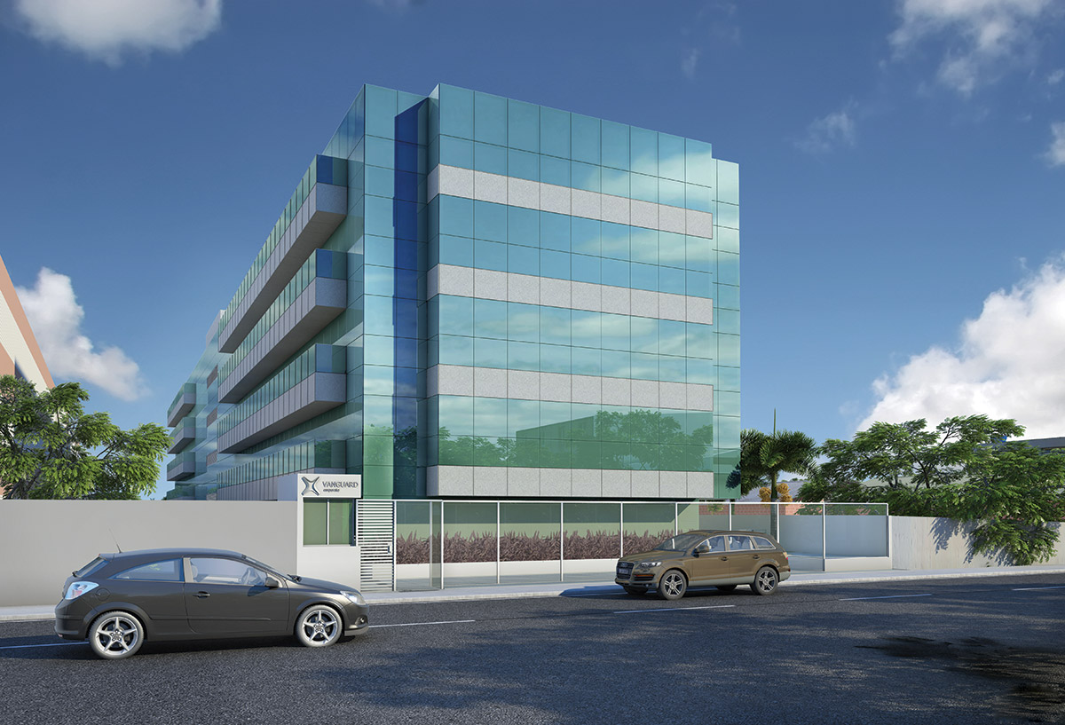 Fachada Posterior Vanguard Corporate